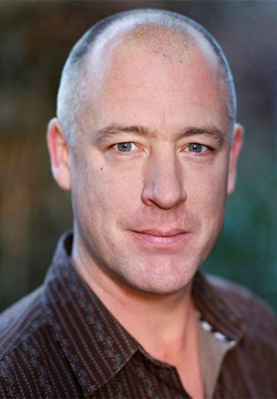 Actor Simon Lacy at Northern Gold Personal Management