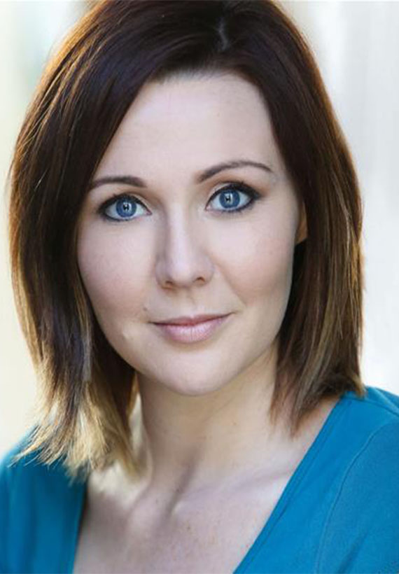 Actress Katherine Booth at Northern Gold Personal Management