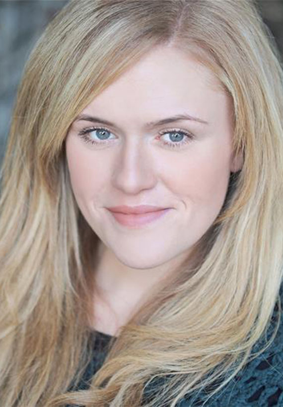 Actress NKaty Oliver at Northern Gold Personal Management