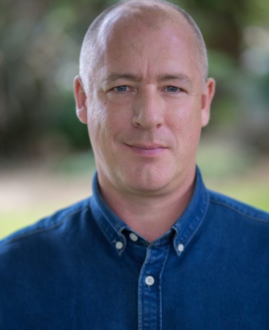 Simon Lacy's Actor Headshot
